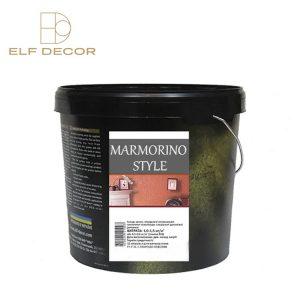 Marmorino Style Elf-Decor